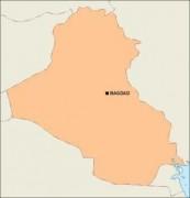 iraq_blankmap vector map