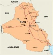 iraq_countrymap vector map