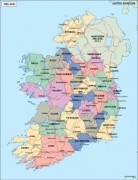 ireland_political vector map