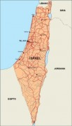israel_countrymap vector map