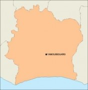 ivorycoast_blankmap vector map