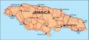 jamaica_countrymap vector map