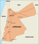 jordan_countrymap vector map