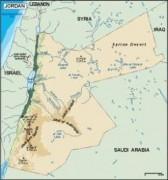 jordan_topographical vector map