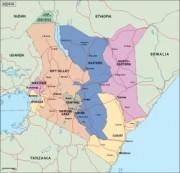 kenya_political vector map
