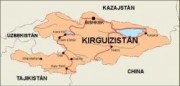 kirgizistan_countrymap vector map