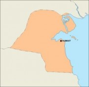 kuwait_blankmap vector map
