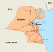kuwait_countrymap vector map