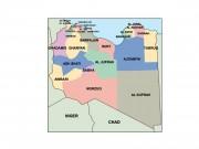 libya powerpoint map
