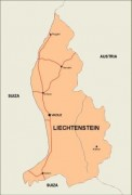 liechtenstein_countrymap vector map