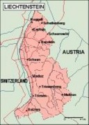 liechtenstein_geography vector map