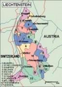 liechtenstein_political vector map
