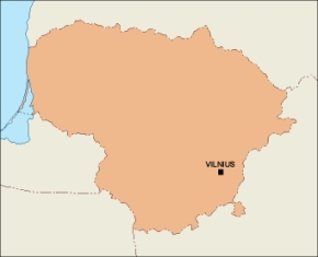 Download Lithuania Vector Maps As Digital File Purchase Online - Lithuania map vector