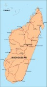 madagascar_countrymap vector map