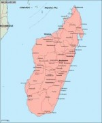 madagascar_geography vector map