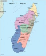 madagascar_political vector map