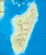 madagascar_topographica vector map