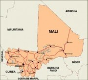 mali_countrymap vector map