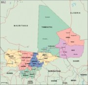 mali_political vector map