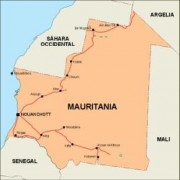 mauritania_countrymap vector map