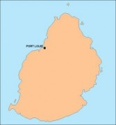 mauritius_blankmap vector map