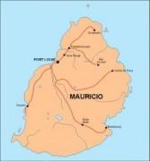 mauritius_countrymap vector map