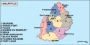 mauritius_political vector map