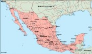 mexico_geography vector map