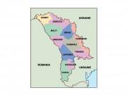 moldova powerpoint map