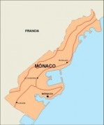 monaco_countrymap vector map