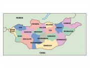 mongolia powerpoint map