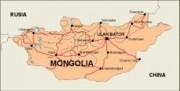 mongolia_countrymap vector map