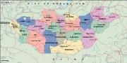 mongolia_political vector map