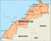 morocco_countrymap vector map
