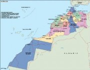 morocco_political vector map