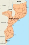 mozambique_countrymap vector map