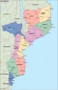 mozambique_political vector map