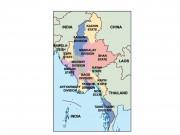 myanmar powerpoint map