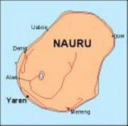 nauru_countrymap vector map