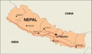 nepal_countrymap vector map