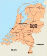netherlands_countrymap vector map