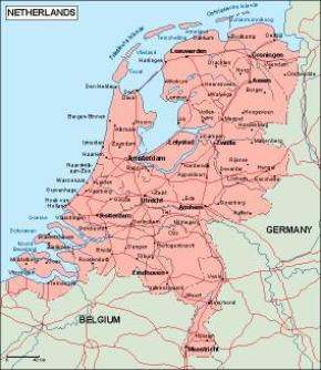 Download Netherlands Vector Maps as digital file Purchase online