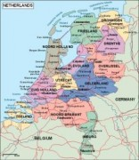 netherlands_political vector map