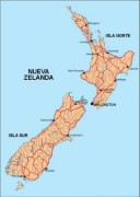 newzealand_countrymap vector map