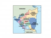 nicaragua powerpoint map