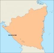 nicaragua_blankmap vector map