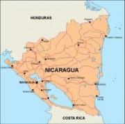nicaragua_countrymap vector map