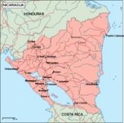 nicaragua_geography vector map