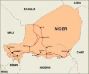 niger_countrymap vector map