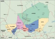 niger_political vector map